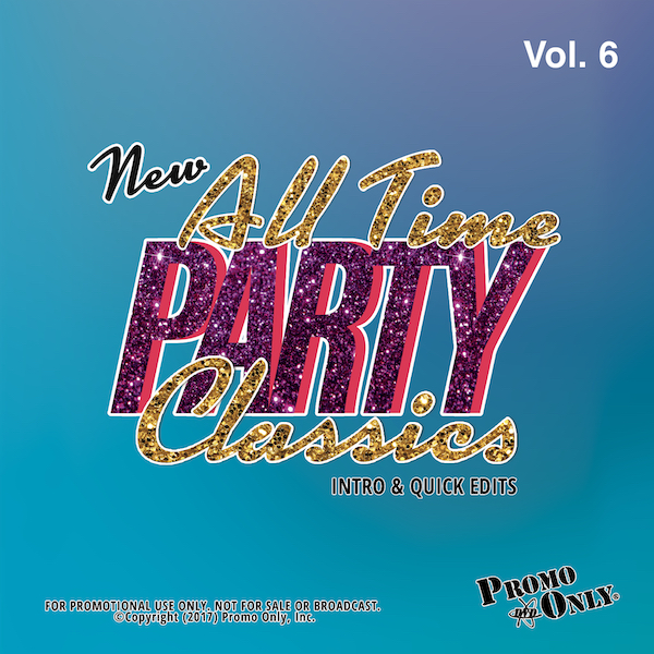New All Time Party Classics - Intro Edits Volume 6 Album Cover