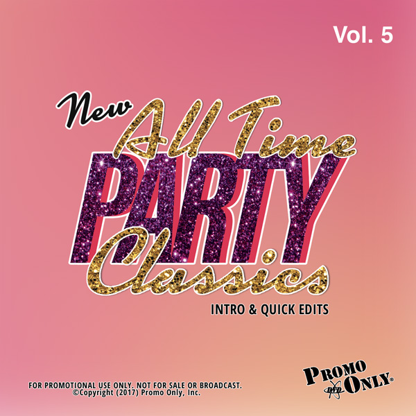 New All Time Party Classics - Intro Edits Volume 5 Album Cover