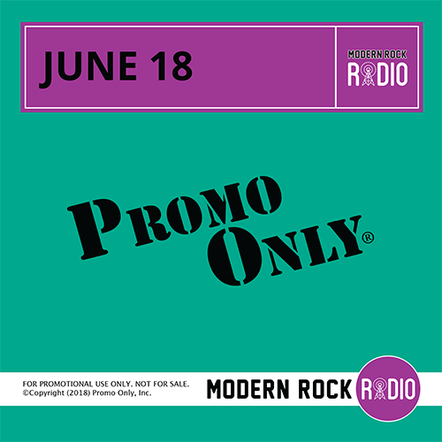 Modern Rock June, 2018 Album Cover