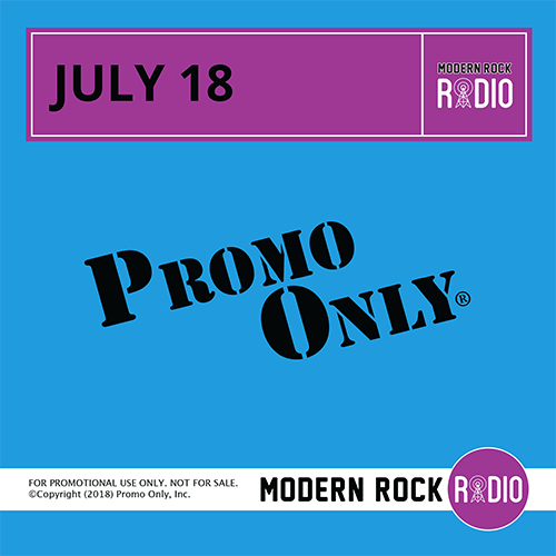 Modern Rock July, 2018 Album Cover