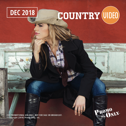 Country Video December, 2018 Album Cover