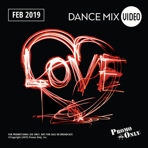 Dance Mix Video February, 2019 Album Cover