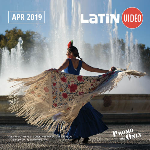 Latin Video April, 2019 Album Cover