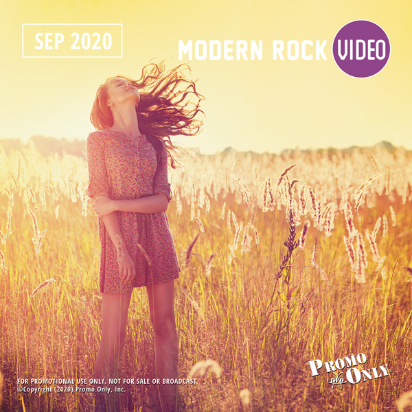 Modern Rock Video September, 2020 Album Cover